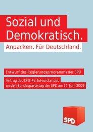 Sozial und Demokratisch