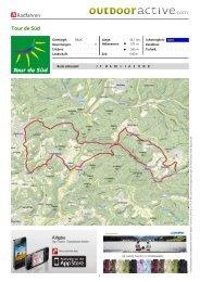 Radfahren Tour de Süd - Zentrum Pfälzerwald