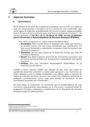 Manual de Procedimientos - Ifarhu