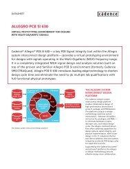 ALLEGRO PCB SI 630 - FlowCAD