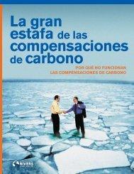 Gran estaFa De las CoMPensaCIones De CarBono - International ...