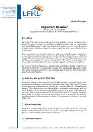 reglement financier lfkl 15 03 2011 - Lycée Français Kuala Lumpur