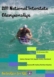 Download the official event program here. - Surf Life Saving Australia