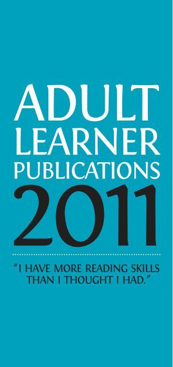 pubsandlinks publications adult learner