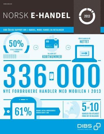DIBS_Norsk_E-handel_2013