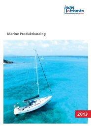 Marine Produktkatalog - Indel Webasto Marine