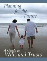 Guide to Wills and Trusts