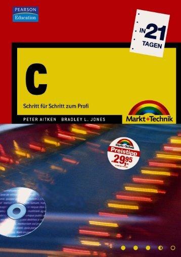 C in 21 Tagen  - Markt und Technik