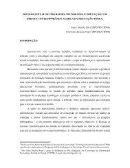 DIVISÃO SEXUAL DO TRABALHO, TECNOLOGIA E EDUCAÇÃO ...