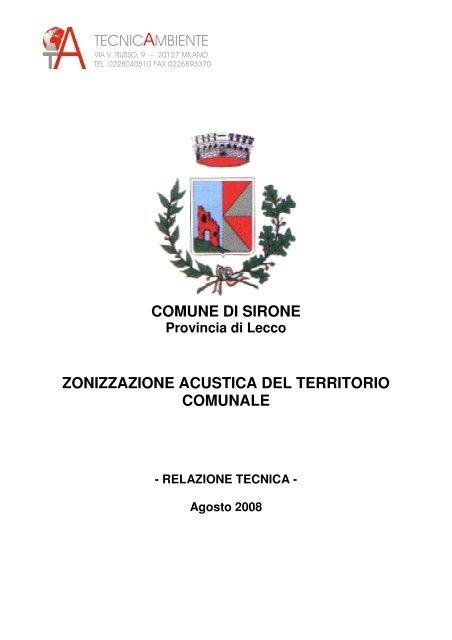 Sirone - Relazione zonizzazione acustica.pdf