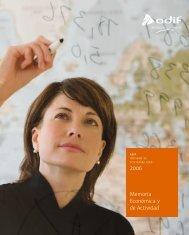 memoria Económica y de actividad 2006 - Adif