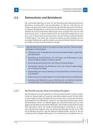 Datenschutz und 2.2 Betriebsrat - Menschundmedien.de