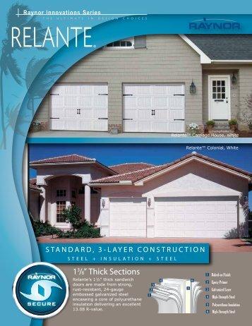 Relante - Raynor Garage Doors