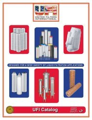 to view this brochure from United Filters International - NFMT