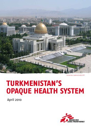 Turkmenistan's opaque health system