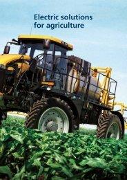 Solutions for agriculture Download pdf - Bonfiglioli