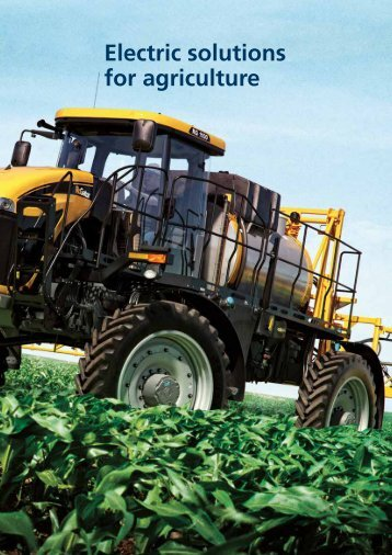 Solutions for agriculture Download pdf - Bonfiglioli