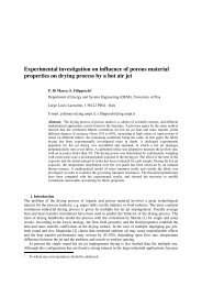 Experimental investigation on influence of porous material ...