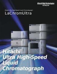 Hitachi Ultra High-Speed Liquid Chromatograph
