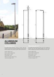 ALUMINIUM COLUMNS - CU Phosco