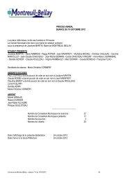 procès verbal du 19 octobre 2012 - Montreuil-Bellay