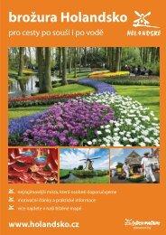 motivační brožura Holandsko 2012