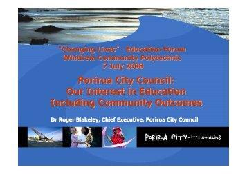 Microsoft PowerPoint - Whitireia Community Polytechnic