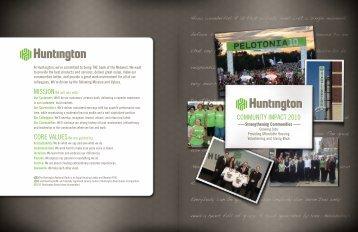 COMMUNITY IMPACT 2010 - Huntington