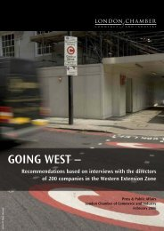 GOING WEST – - London Chamber of Commerce and Industry