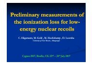 Measuring low energy nuclear recoils