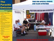 August 2011 Amateur Radio Club Activities - The Parasitic Emission