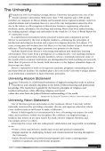Georgia Baptist College of Nursing Catalog 2010 ... - Mercer University - Page 7