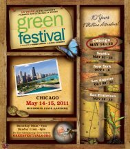 CHICAGO May 14 - 15, 2011 - Green Festival