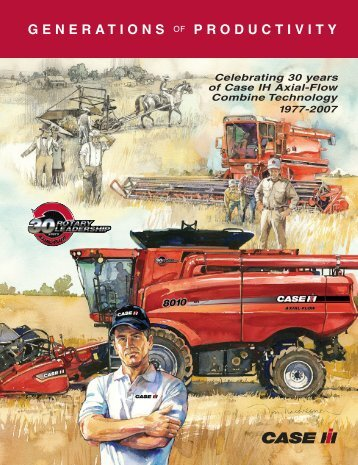 GENERATIONS OF PRODUCTIVITY - Centre Agricole.ca