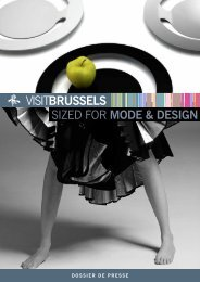 sized for MODE & DESIGN - VisitBrussels