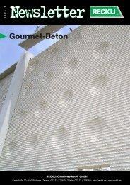 Gourmet-Beton - RECKLI GmbH: Home