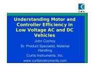 U d t di M t d Understanding Motor and Controller Efficiency in ...