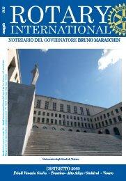 Notiziario maggio 2012 - Rotary International Distretto 2060