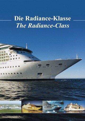 Die Radiance-Klasse The Radiance-Class - Meyer Werft
