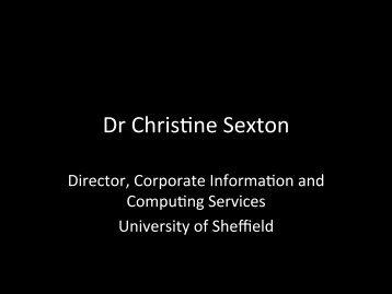 Dr Chrisbne Sexton