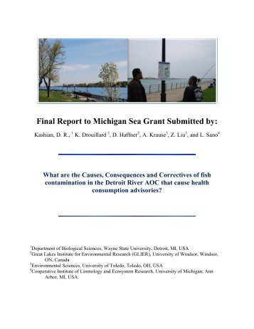 Chapter 2 - Michigan Sea Grant - University of Michigan