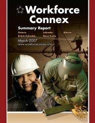 Summary Report - AHRDCC - Workforce Connex