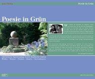 Poesie in Grün