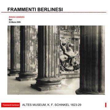 FRAMMENTI BERLINESI - AAM