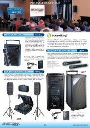 PORTABLE PA SYSTEMS - Audio Australia