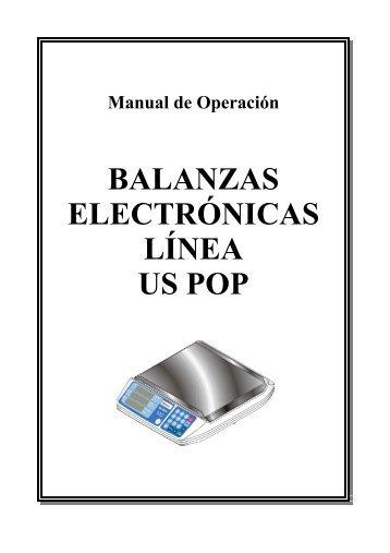 BALANZAS ELECTRÓNICAS LÍNEA US POP - Urano