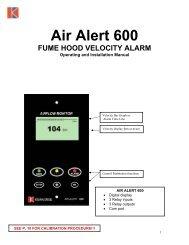 Air Alert 600