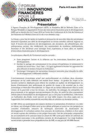 Presentation FR EXT14 jan10 - cefeb