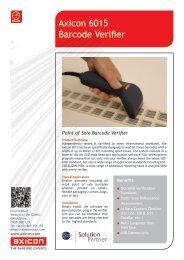 Axicon 6015 Barcode Verifier