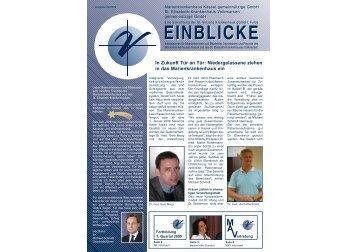 einblicke volkmarsen.qxp - St. Elisabeth-Krankenhaus Volkmarsen